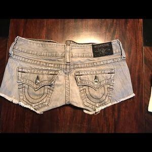 Woman's Authentic True Religion Shorts